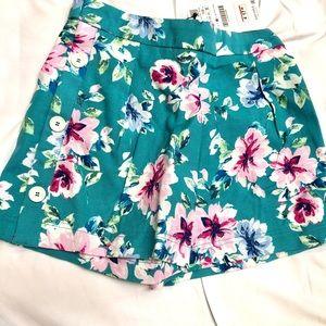 Zara shorts floral.